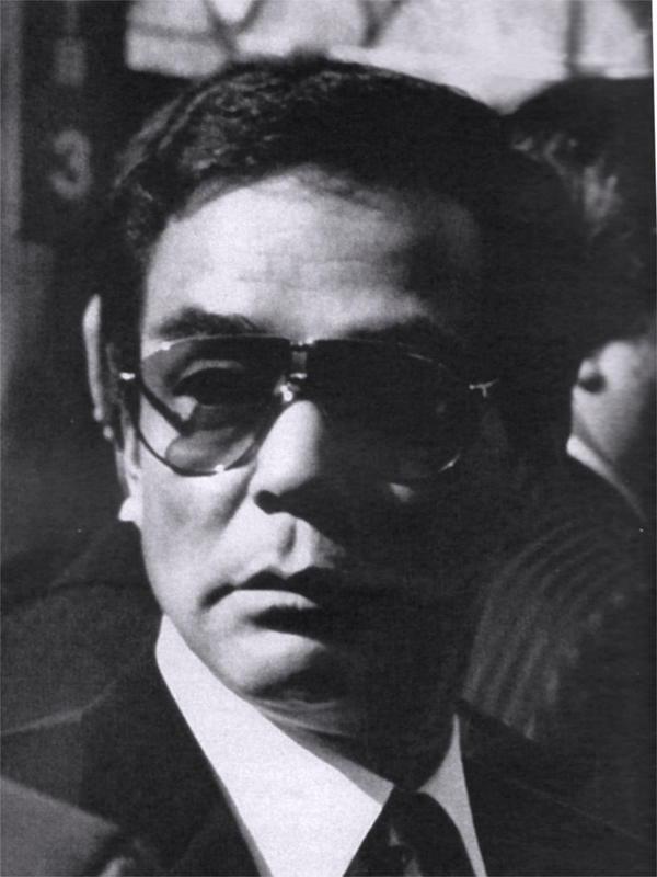 The fifth generation leader of Yamaguchi-gumi, Takumi Masaru