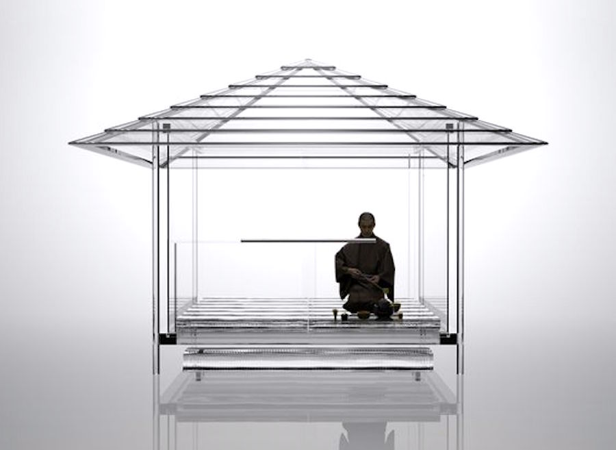 Japanese Tea House, Glass Tea House by TOKUJIN YOSHIOKA