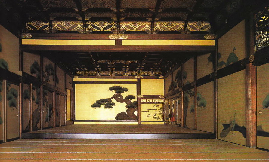 NIjo Castle, Ni-no-Maru, the reception hall