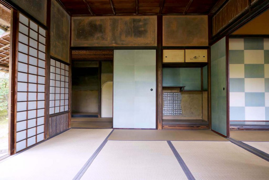 Shoukintei of Katsura Rikyu Imperial Villa in Kyoto, Japan
