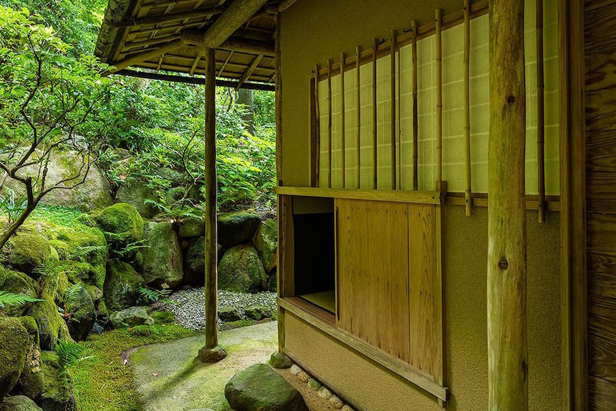 Tea House Guest's Entrance called Nijiriguchi