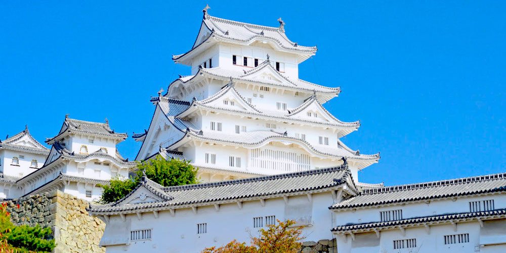 The World Heritage, Himejijo Castle in Himeji, Hyogo, Japan