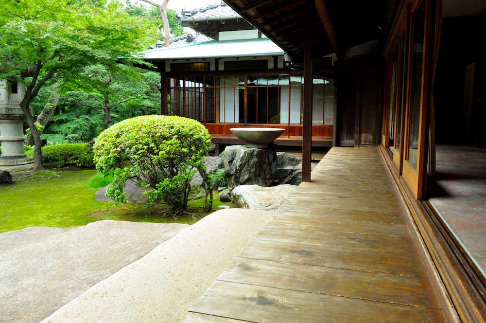 Traditional style of Engawa (veranda)