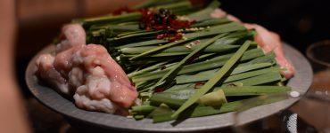 shio motsu-nabe, hot pot stew made with offal