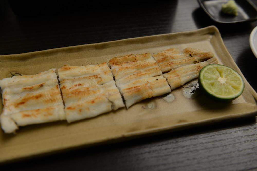 Kanda Yabusoba, Anago-yaki