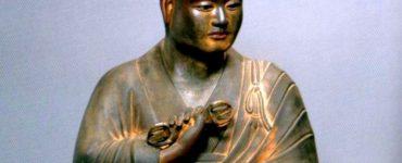 Seated Statue of Kukai aka Kobo Daishi